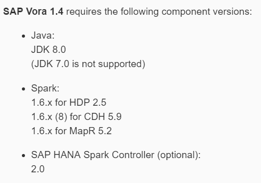 JDK and Spark compatible versions