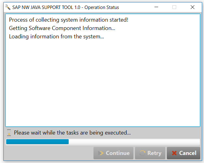 SAP NW Java Support Tool: Connecting to Support Portal