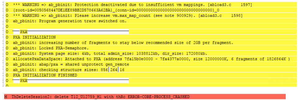 Information in the WP trace